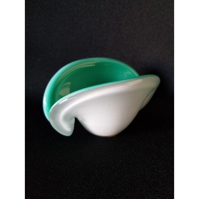 Toso Murano Clamshell Ashtray / Decorative Bowl - Image 7 of 8