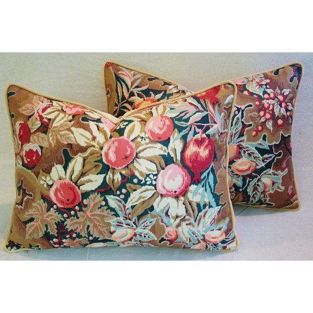 Designer Brunschwig & Fils Filoli Pillows - Pair - Image 3 of 11