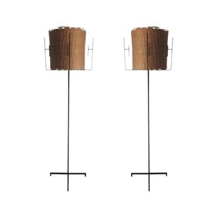 Pair of French Floor Lamps by Disderot