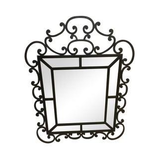 Aston Sutton Crawley Wrought Iron Mirror