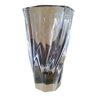 Orrefors Residence Lead Crystal Vase