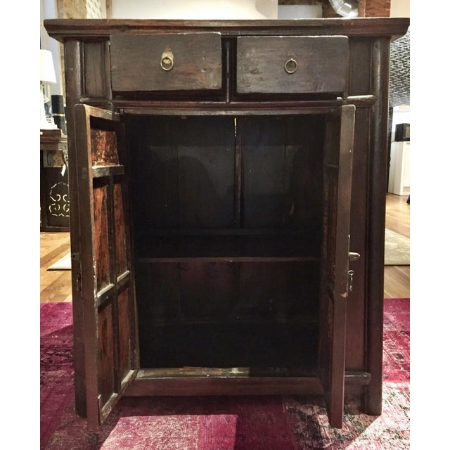Chinese Antique Tapered Cabinet - Image 11 of 11