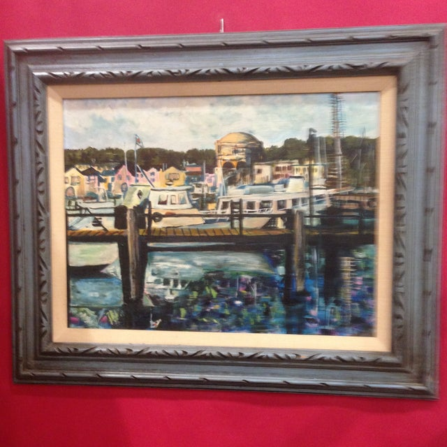 Palace of Fine Arts, San Francisco - Oil on Board - Image 2 of 6