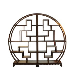 Round Display Cabient Room Divider