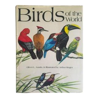 "1961 Vintage ""Birds of the World"" Hardcover Ornithology Book"