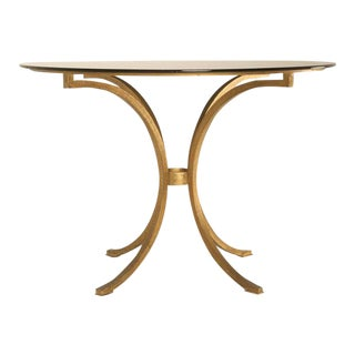 French Gilt Iron Table