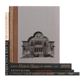 American Homes & Architecture - Set of 5