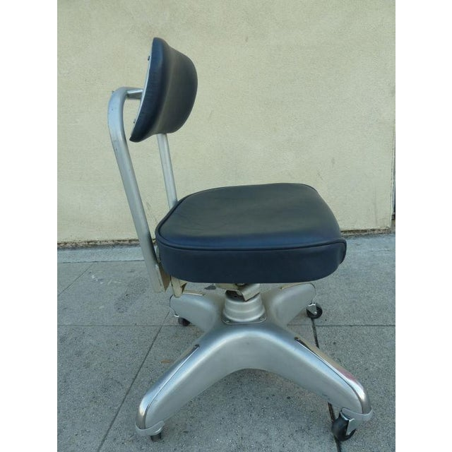 Mid-Century Adjustable Swivel Chair By Cole - Image 2 of 5