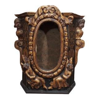 18th Century Rococo Altar Cabinet