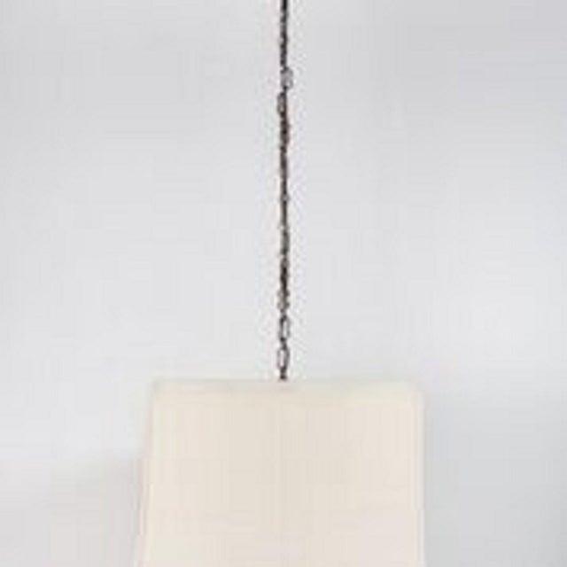 Paul Marra Asian-Inspired Four Light Shaded Pendant - Image 4 of 6