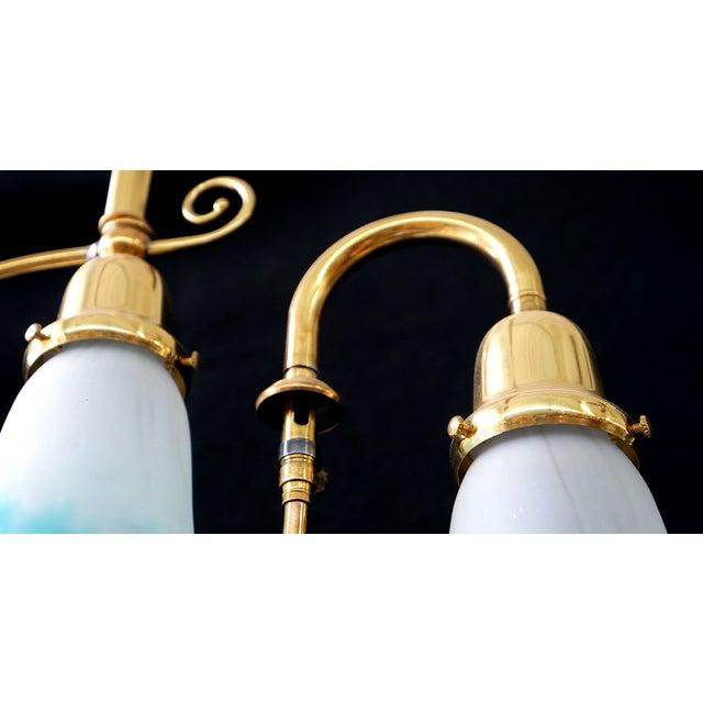 Image of Late Victorian Combination Pendant Light
