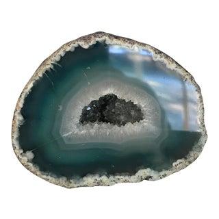 Boho Chic Blue Geode