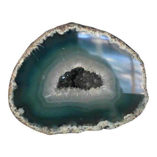 Image of Boho Chic Blue Geode
