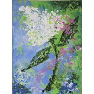 Hydrangea-Floral Painting by Celeste Plowden