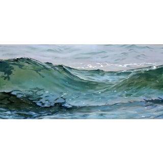 "Original ""Wave 74"" Pastel Painting by Christopher Reid"