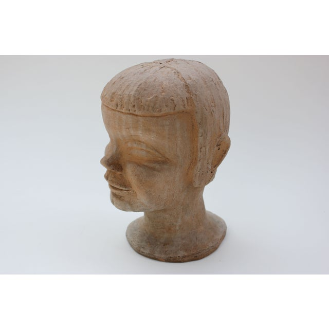 Vintage Studio Pottery Head Bust - Image 4 of 8