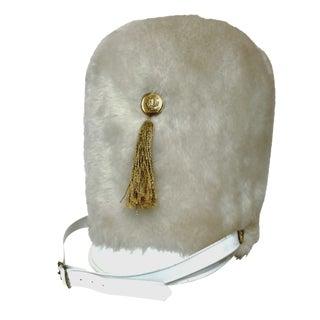 Faux-Fur Drum Majorette Hat