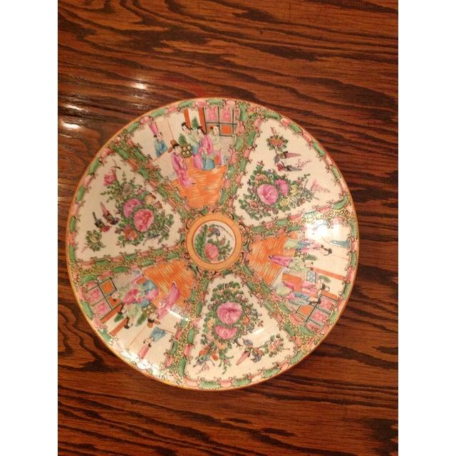 Image of 1800s Chinese Porcelain Famille Rose Platter