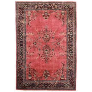 RugsinDallas Antique Hand Knotted Wool Turkish Sparta Rug - 6′ × 8′10″
