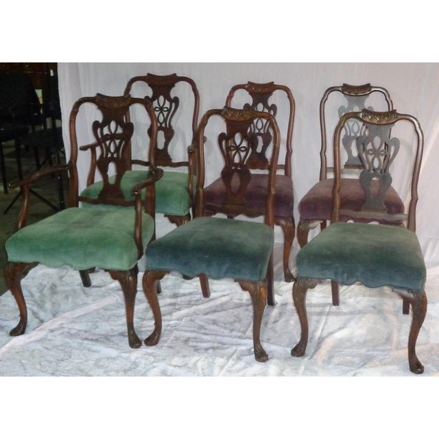 Batesville Mahogany Dining Chairs- Set of 6 - Image 10 of 11