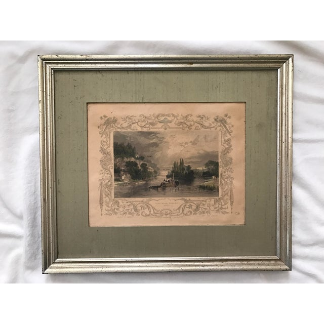 Antique Framed Prints by William Tombleson - Set of 4 - Image 7 of 11