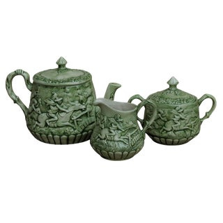 Paul Revere's Midnight Ride Tea or Coffee Service - Set of 3
