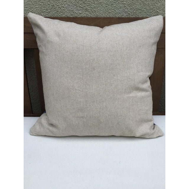 Vintage Textile Pillow - Image 3 of 5