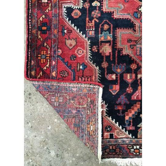 "Vintage Persian Rug - 4'4"" x 7'5"" - Image 5 of 6"
