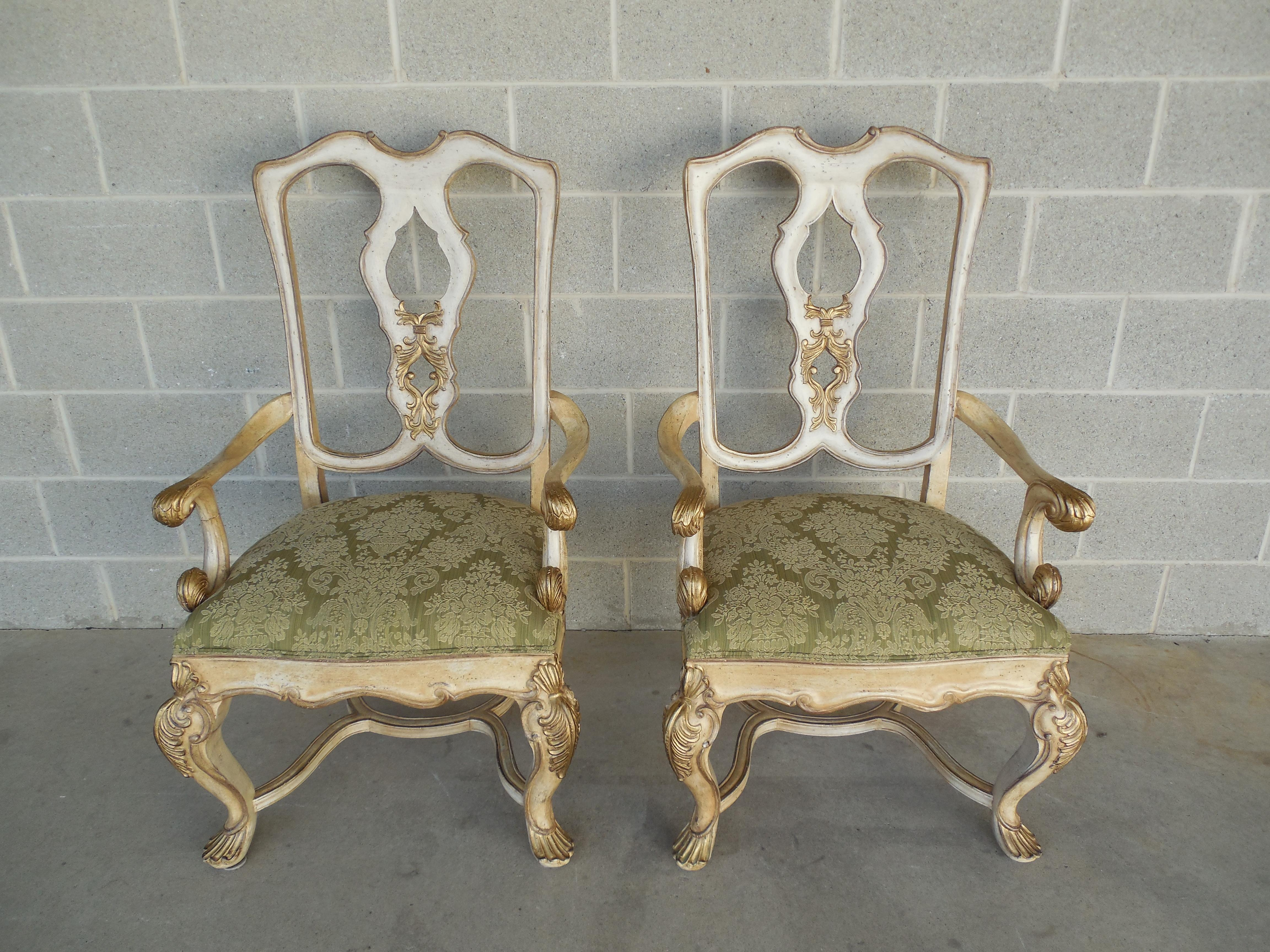 Ferguson Copeland Venetian Arm Chairs   Pair   Image 2 Of 8