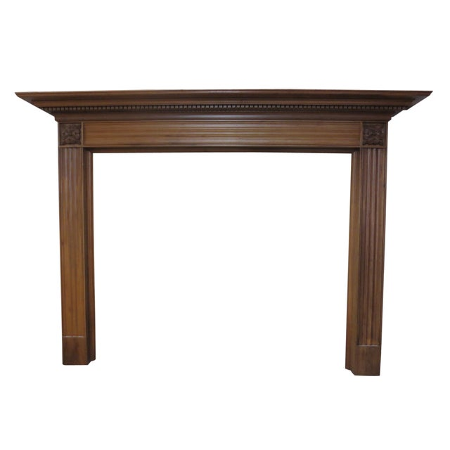 Image of Checkendon American Walnut Mantle
