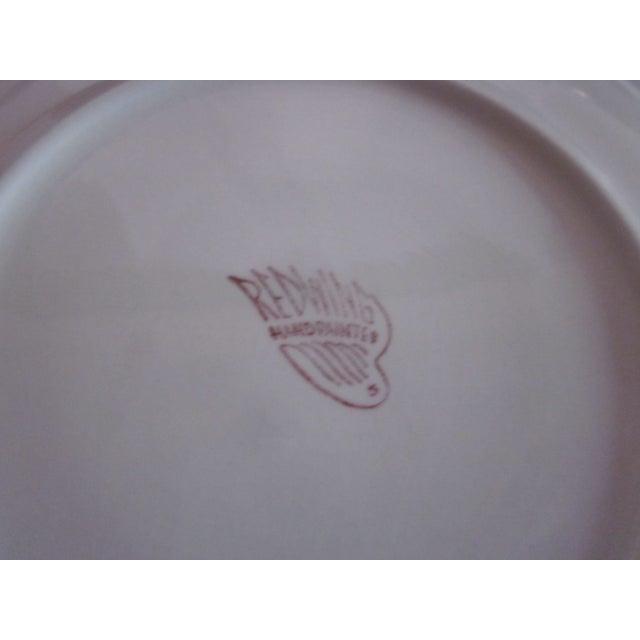 Image of Redwing Red Wing Pottery Chrysanthemum Set