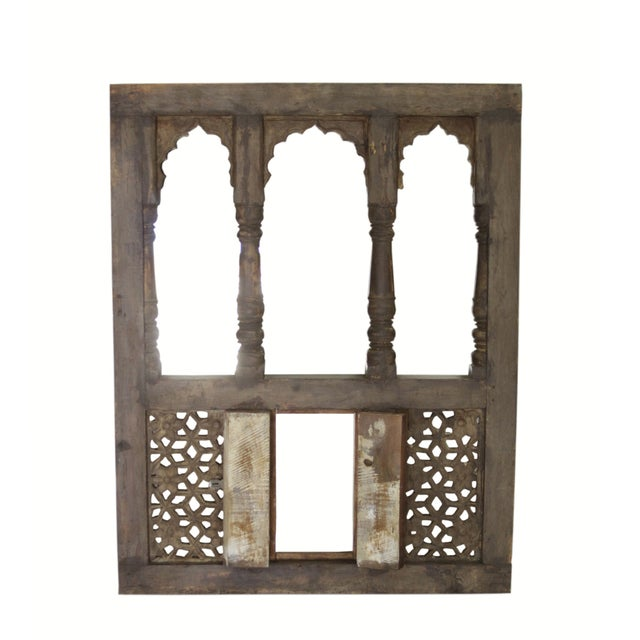 Moorish Style Haveli Window Mirror - Image 2 of 3