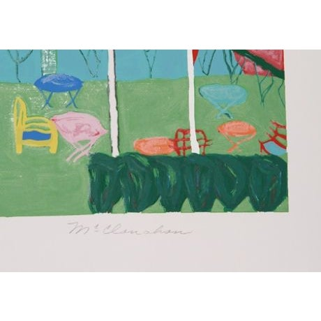 Marion McClanahan - Candebec III Lithograph - Image 2 of 2