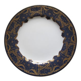 Spode Cobalt and Gilt Dinner Plates - Set of 6