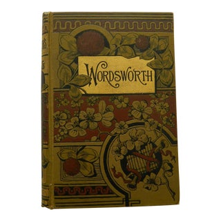 The Poetical Works of Wordsworth Rare Antique Poetry Book Circa 1890