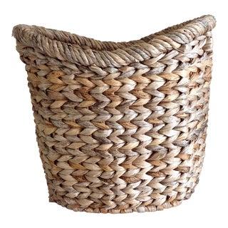 Woven Earthy Boho Basket
