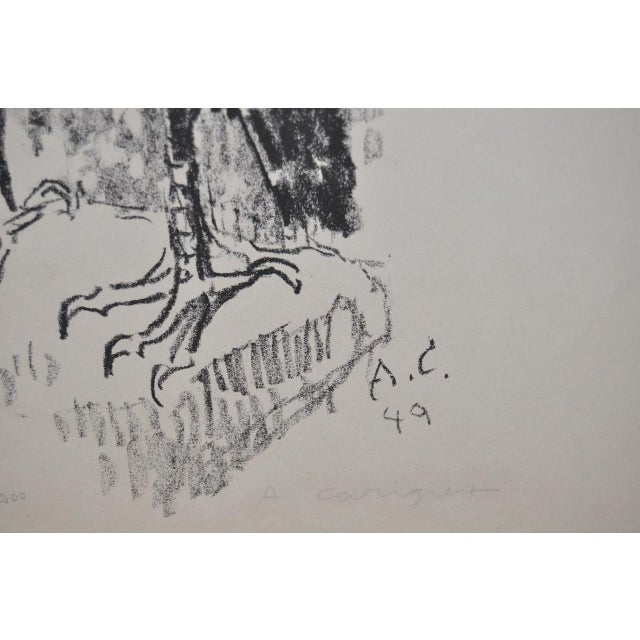 Vintage Hawk Lithograph by Alois Carigiet c.1949 - Image 5 of 6
