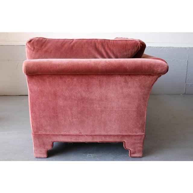 American of Martinsville Velvet Chaise Lounge - Image 8 of 11