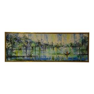 Van Hoople Abstract Impressionist Oil Painting