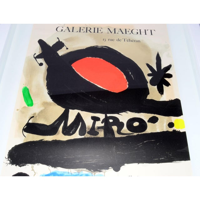 Joan Miró Lithograph Poster By Galerie Maeght - Image 5 of 11