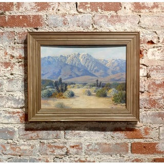 Carl Sammon -San Jacinto Palm Springs,CA-Beautiful Desert Landscape-Oil Painting
