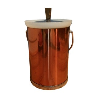 Vintage Kromex Copper Ice Bucket