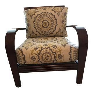 Ethan Allen Upholstered Arm Chair