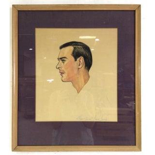 Duane Perrigo Watercolor Portrait