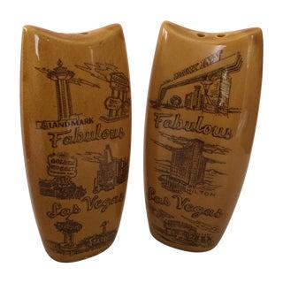 Mid-Century Las Vegas Salt & Pepper Shakers