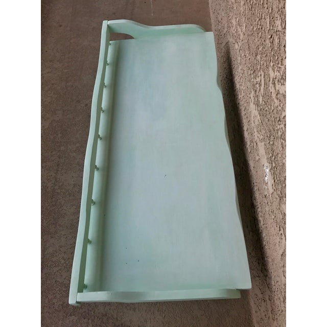 Shabby Chic Painted Farmhouse Style Coffee Table - Image 9 of 10