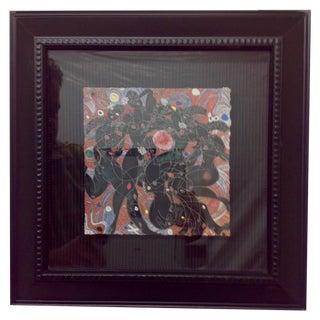 "Jiang Tie-Fang ""Playing Water"" Yunnan Framed Print"