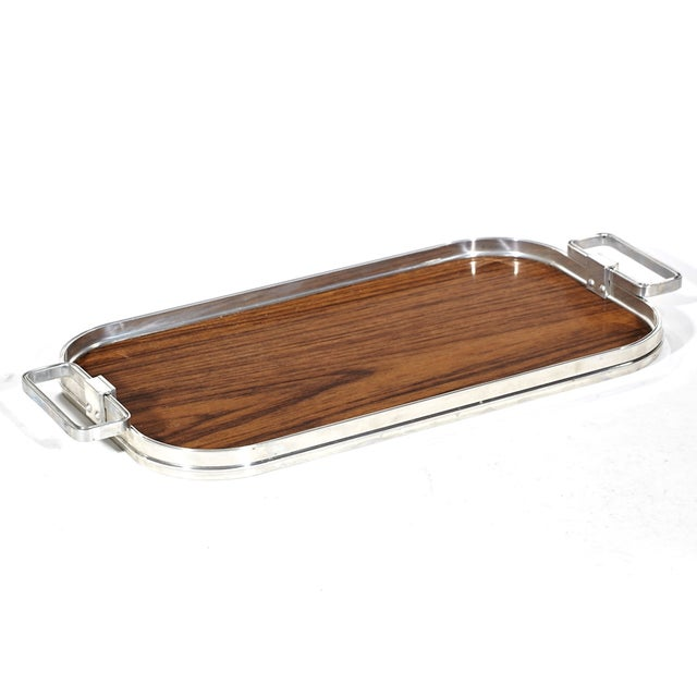 1960's Wood Laminate Serving Tray - Image 2 of 4