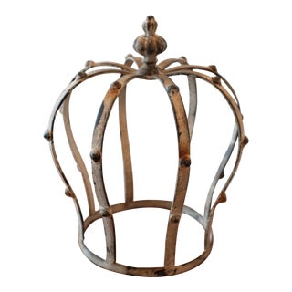 Vintage Decorative Metal Crown