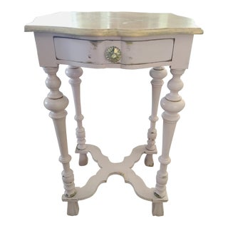 Shabby Chic Distressed Nightstand